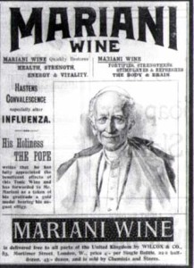 El Papa y el Vin Mariani