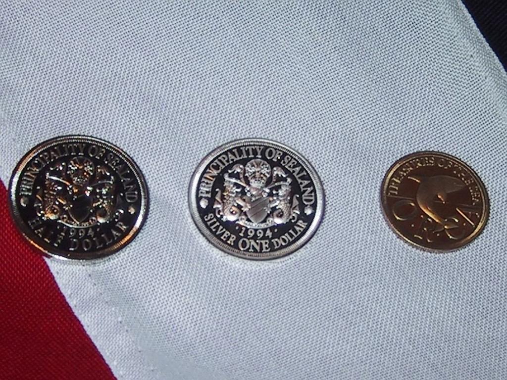 Monedas de Sealand