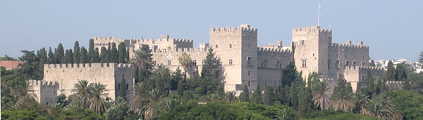 Vista general del Palacio de los Grandes Maestres de la Orden