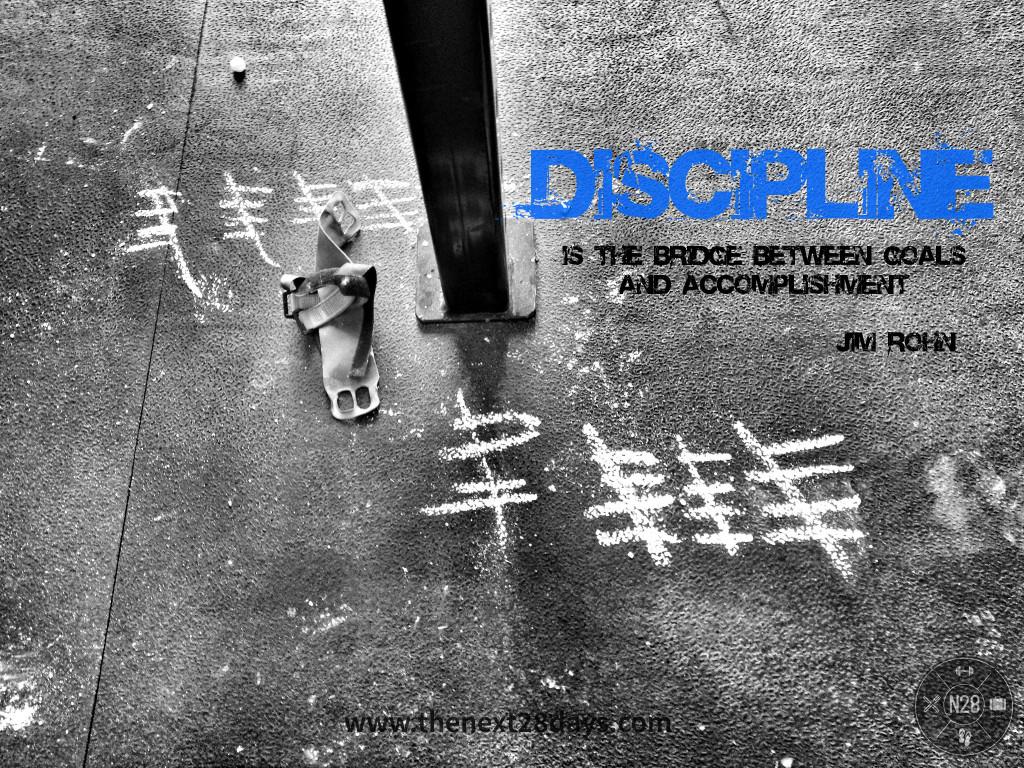 Discipline Jim Rohn