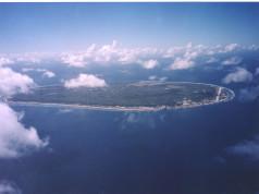 Vista aérea de Nauru