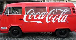 furgoneta de Coca-Cola