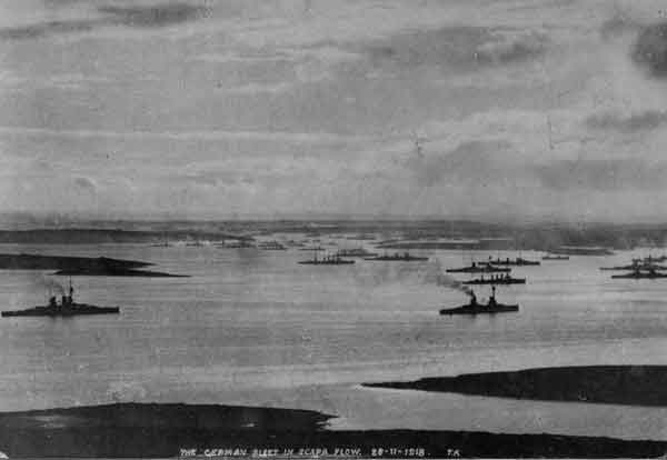 Flota alemana en Skapa Flow