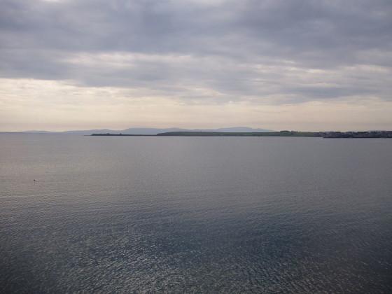 Vista de Skapa Flow desde Barrera de Churchill